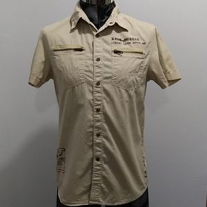 Guess Men's Western Shirt Size Small